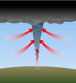 Ilustrasi angin puting beliung| wargasawitto.blogspot.com |